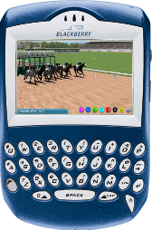 Virtual Horse Racing Blackberry